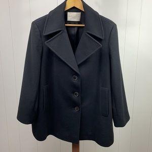 Fleurette Ing. Loro Piana C. Italy Wool Coat